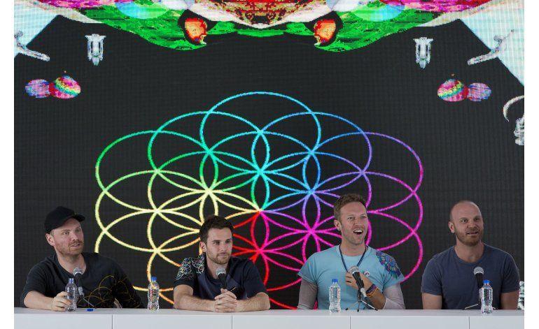Coldplay explica su buena vibra