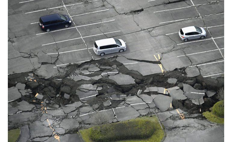 LO ULTIMO: 1.500 heridos, 80 graves, en sismos de Japón