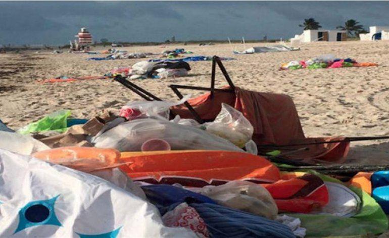 Comisionado critica destrozos en Miami Beach tras Floatopia