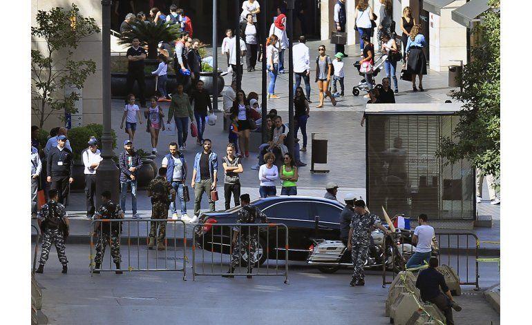 Presidente francés ayudará a la seguridad en el Líbano
