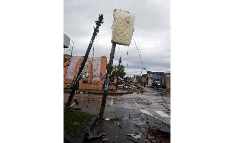 Duelo nacional en Uruguay tras paso de devastador tornado