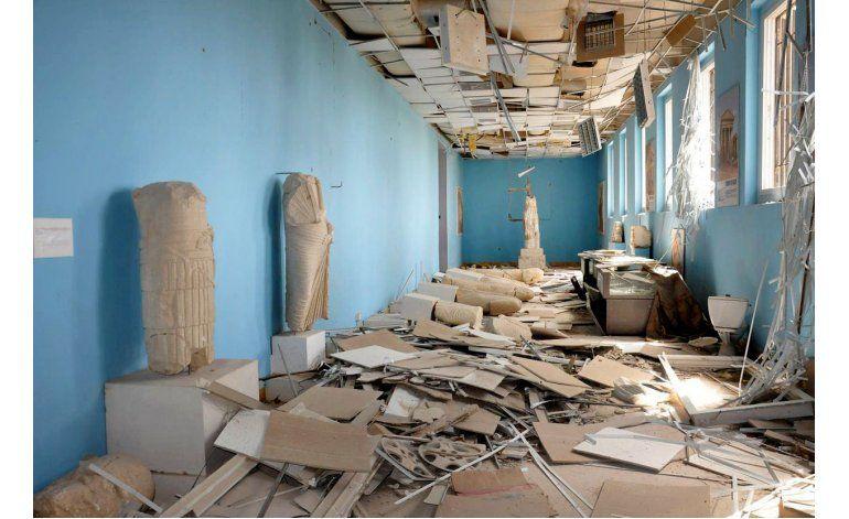 Expertos dan desalentadores detalles de museo en Palmira