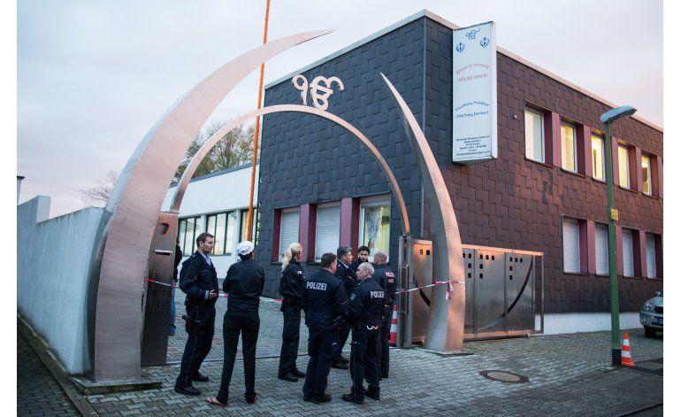 Alemania: Explosión en templo sij deja tres heridos