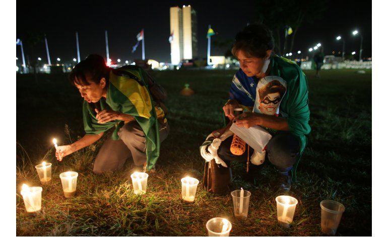 El debate se agria en Brasil ante juicio político a Rousseff