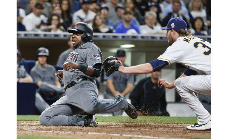 Jonrón de Upton Jr. da la victoria a Padres sobre Arizona