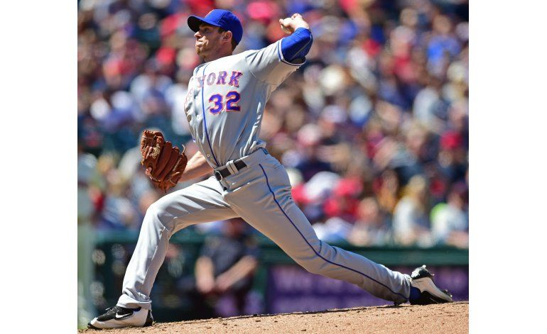 Matz se redime tras mala salida, Mets derrotan a Indios