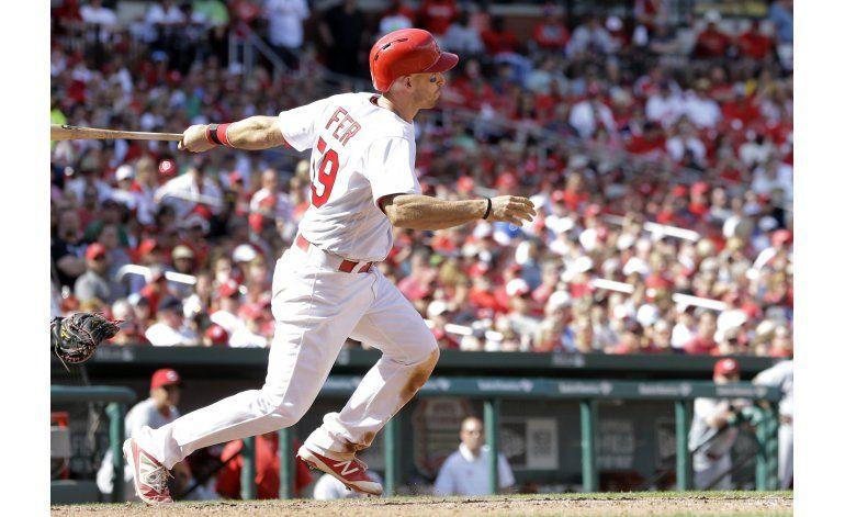 Con 3 hits de Fryer, Cardenales superan a Rojos