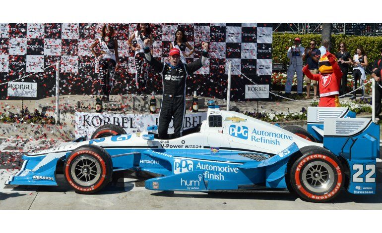 IndyCar: Pagenaud se impone en Long Beach