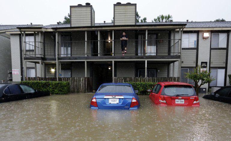 Inundaciones y lluvias en Houston y zonas circundantes