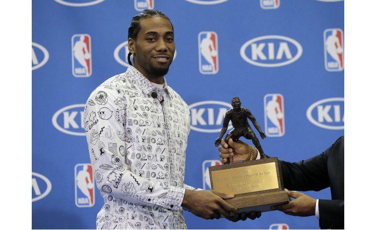 Kawhi Leonard nuevamente el mejor defensor de la NBA