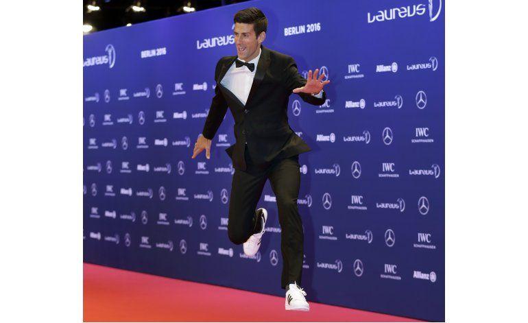 Djokovic y Serena ganan premios Laureus