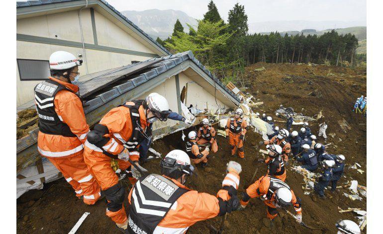 Réplicas en Japón, muertos por sismos suben a 45
