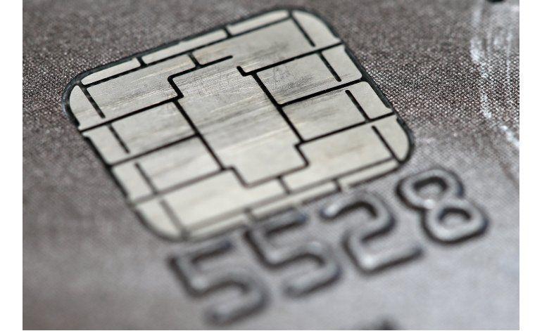 Visa mejora el microchip de sus tarjetas de crédito