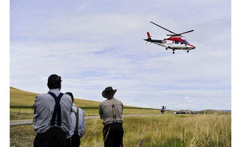 EEUU: Buscan regular costos de ambulancias aéreas