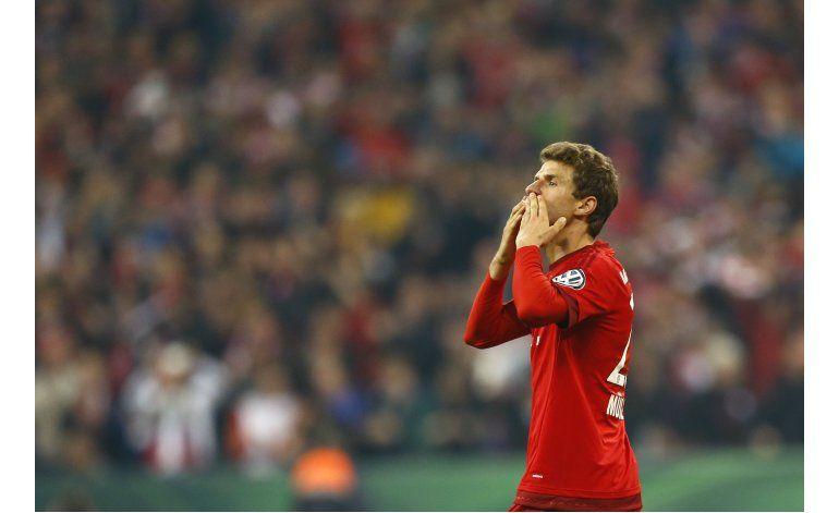 Bayern avanza a final de Copa Alemania