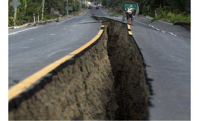 Un nuevo sismo sacude Ecuador