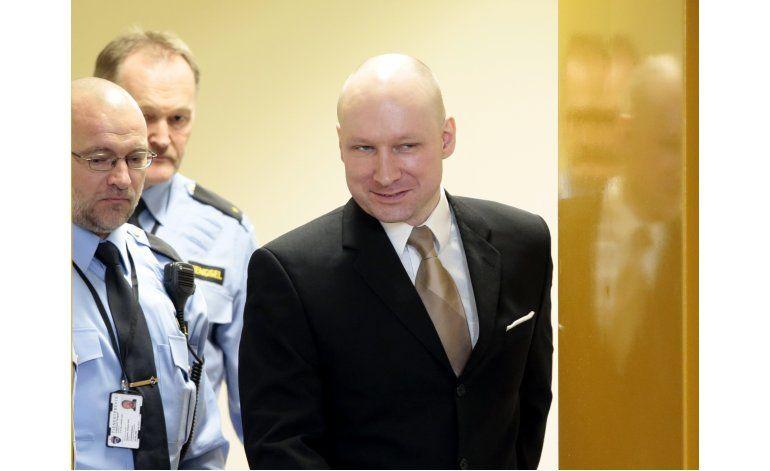 Corte noruega: se violaron derechos del extremista Breivik