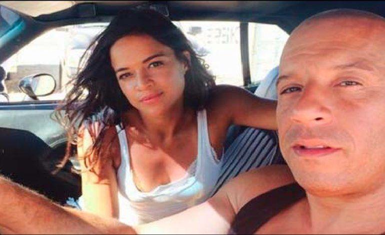 ¡Vin Diesel y Michelle Rodríguez ya están en La Habana!