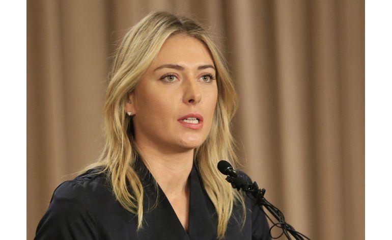 Programan audiencia en caso de dopaje de Sharapova