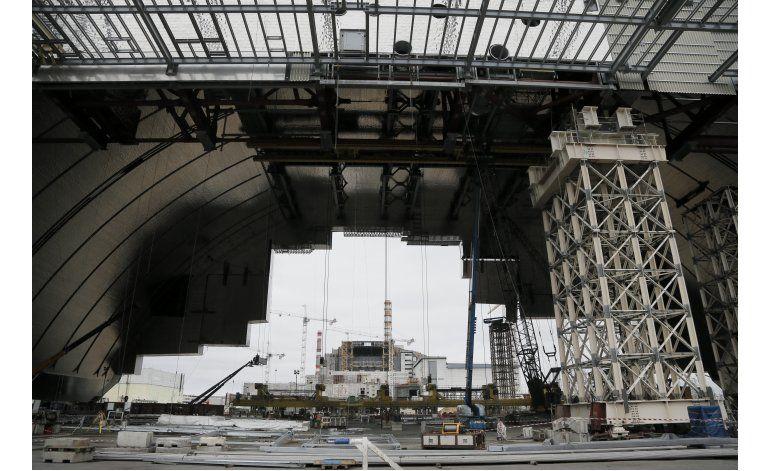30 años después, Chernobyl sigue combatiendo la radiación