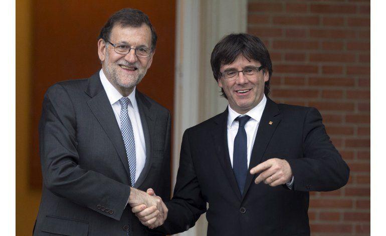 Rajoy rechaza petición de referendo de líder catalán
