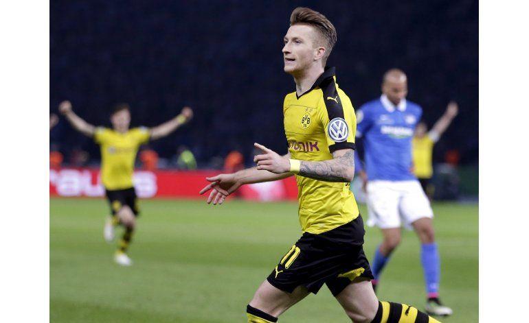 Dortmund avanza a la final de Copa de Alemania