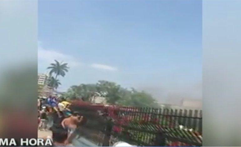 Incendio en Hospital Frank País en municipio de La Lisa, La Habana