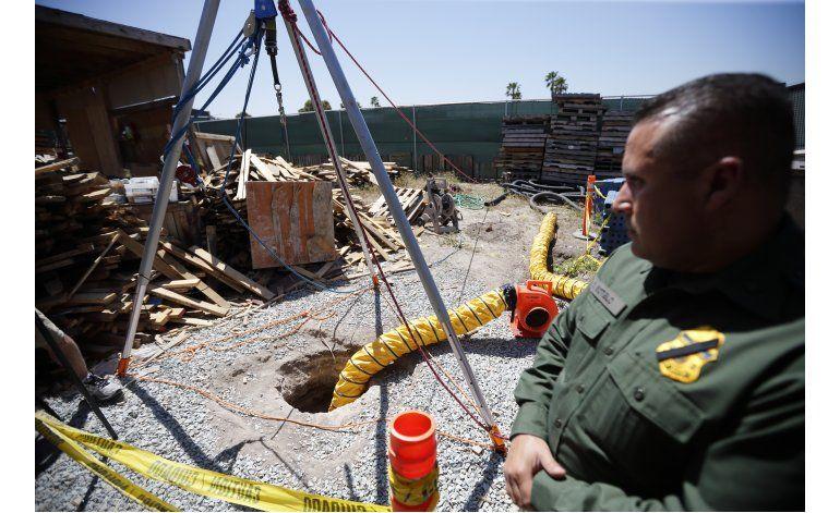 EEUU: Descubren túnel de drogas bajo frontera con México