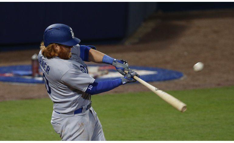 Dodgers vencen a Bravos en 10 innings y les cortan racha