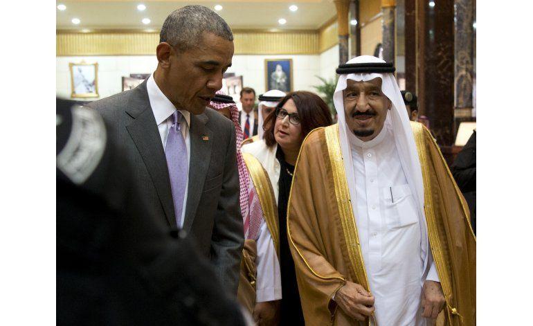 Obama se reúne en Riad con aliados del golfo Pérsico