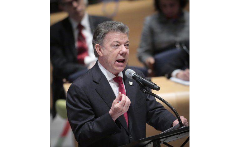 Santos pide en la ONU replantear la guerra contra las drogas