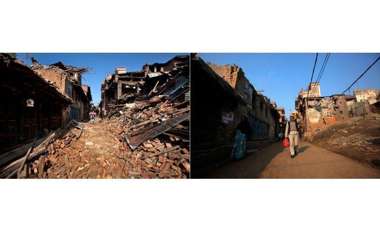 Un año después de terremoto, no hay progresos en Nepal