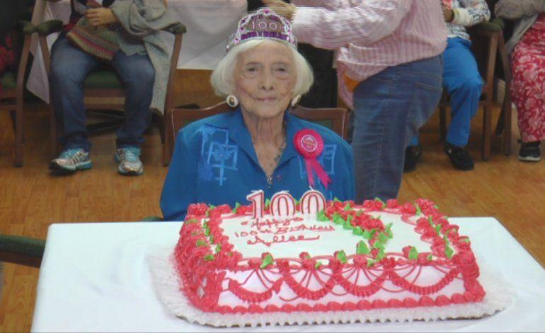 Anciana de Miami cumple 100 años