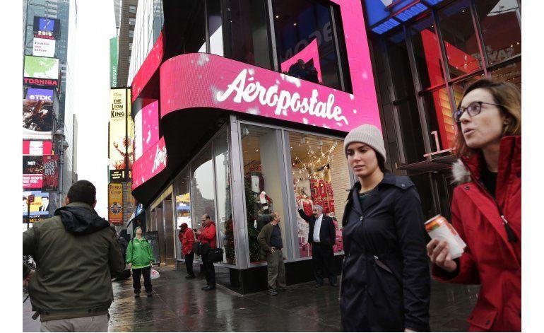 Bolsa de Nueva York suspende intercambio de Aeropostale