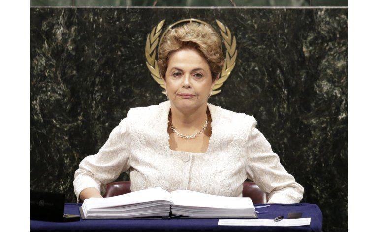 Rousseff evita hablar de escándalo político en ONU