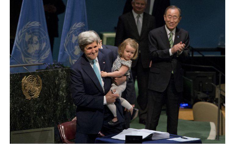 Más de 170 países firman el acuerdo sobre cambio climático