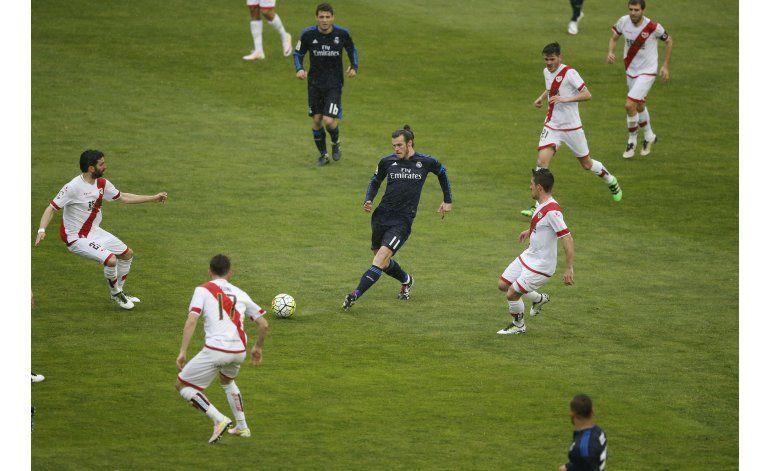 Sin Cristiano, Bale resuelve con doblete en cancha del Rayo