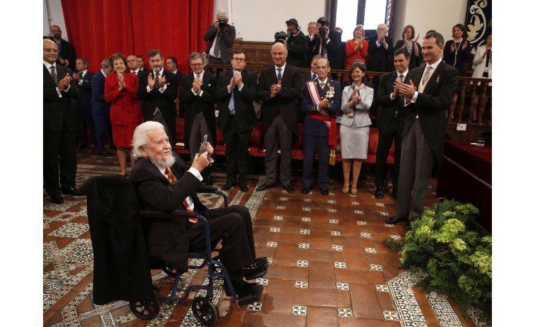 Fernando del Paso recibe el Premio Cervantes