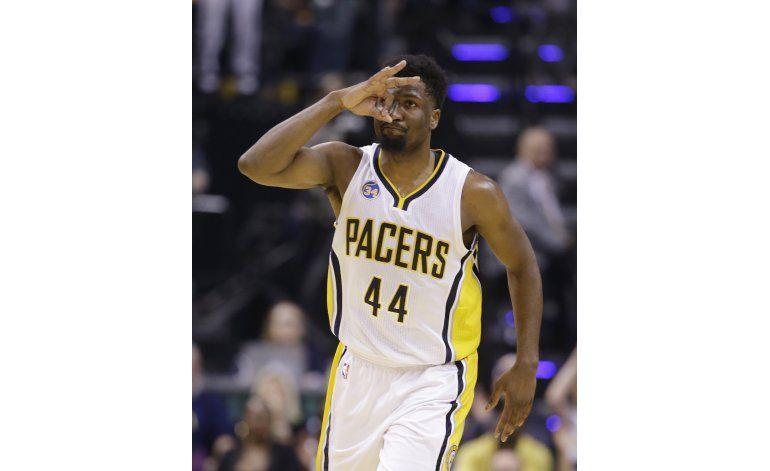 Pacers vapulean a Raptors y nivelan serie