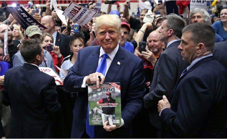 Trump dice a votantes: no bajaré el tono