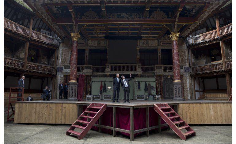 Recuerdan a Shakespeare en su 400mo aniversario luctuoso
