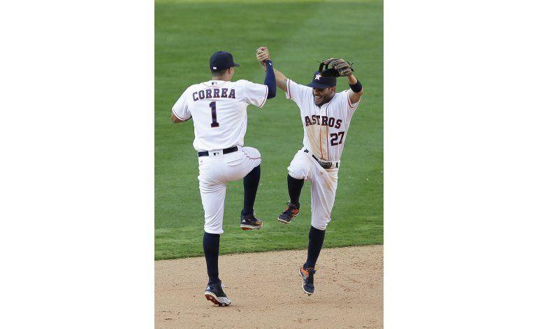 Rasmus pega grand slam, Astros derrotan a Boston