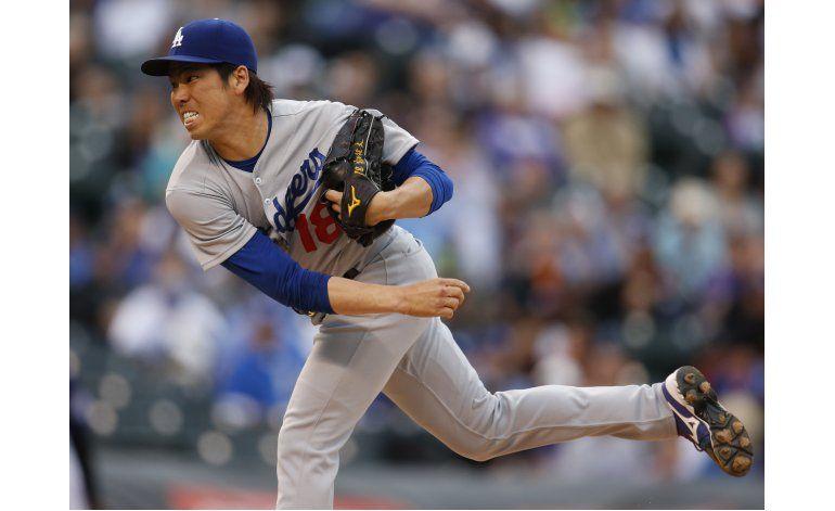 Maeda maniata a Colorado, Dodgers ganan 4-1