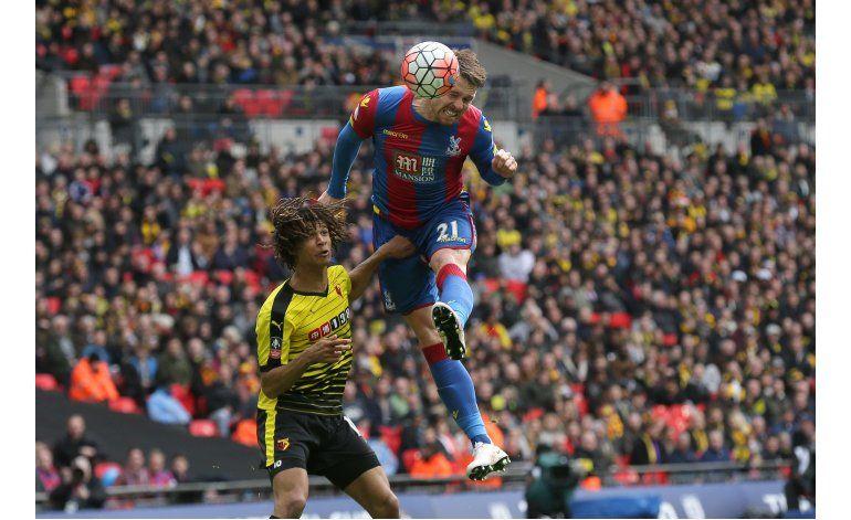 Palace vence 2-1 al Watford y va a la final de la Copa FA