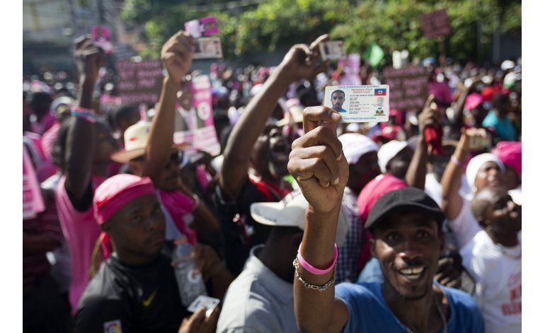 Haití: Manifestantes exigen elección de desempate