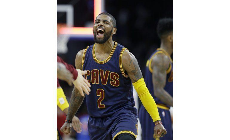 Con 31 de Irving, Cavaliers barren a Pistons