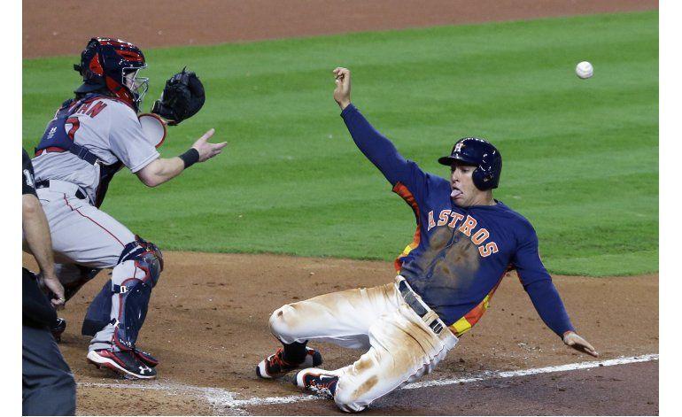 Bradley, Medias Rojas ganan a Astros en 12 innings