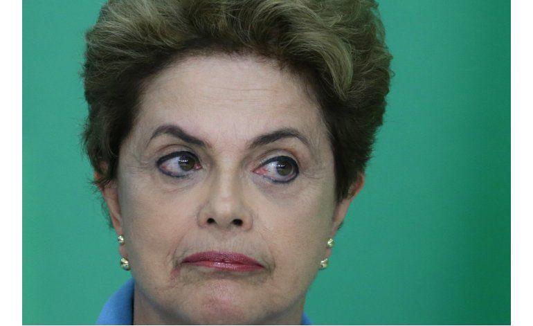 Senado de Brasil elige comisión de juicio político