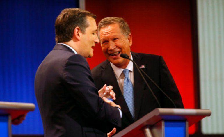 Ted Cruz y John Kasich hacen un trato  para tratar de arrebatarle victorias a Donald Trump