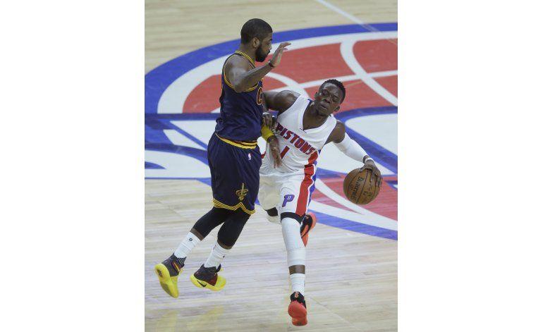 NBA: No hubo falta sobre Jackson, en derrota de Pistons